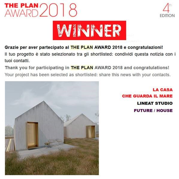 Linea T studio - The Plan Award 2018 - cat. HOUSE